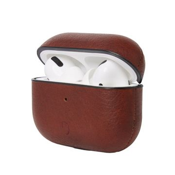 Coque Airpods Pro en cuir Marron