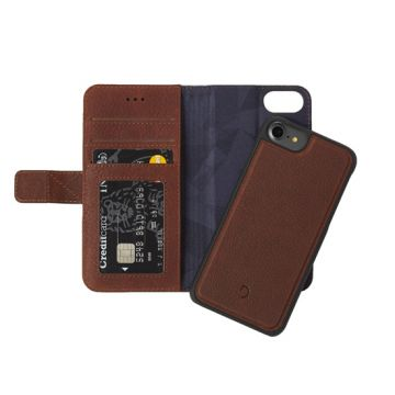 Folio détachable iPhone 6/6s/7/8 Marron