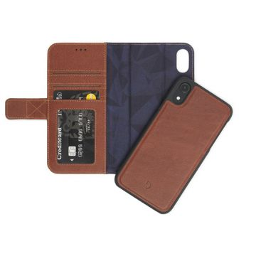 Folio détachable iPhone XR Marron