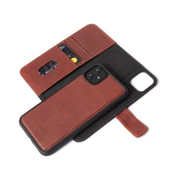 Folio détachable iPhone 11 Marron