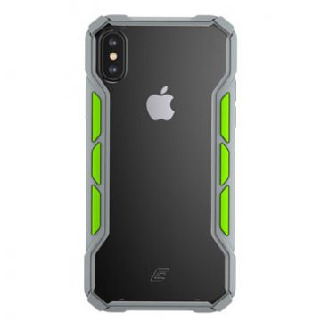Rally iPhone XS Max Light Grey/Lime