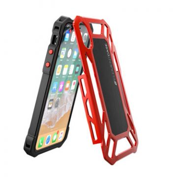 Coque Roll Cage iPhone X/XS Rouge