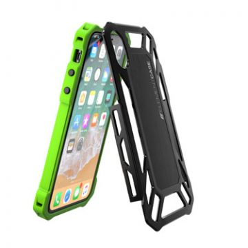 Coque Roll Cage iPhone X/XS Vert