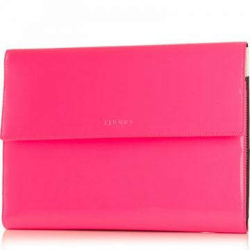 Knomad iPad Air Leather Rose Fluo