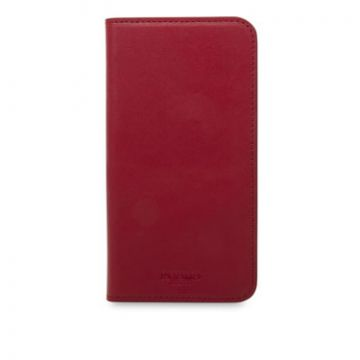 Leather Folio iPhone X/XS Rouge