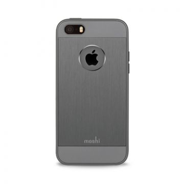 iGlaze Armour Gris Métallisé iPhone SE