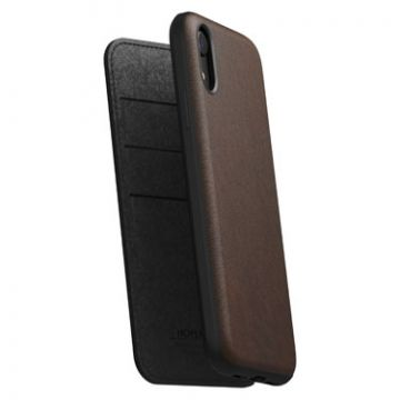 Rugged Folio iPhone XR Brown