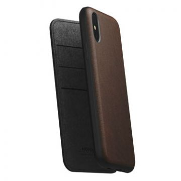 Rugged Folio iPhone XS Max Brown