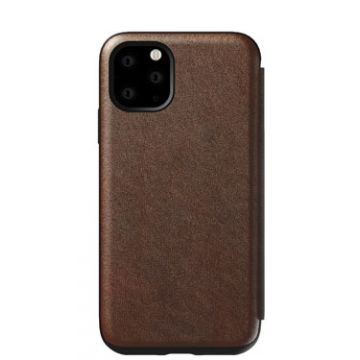 Rugged Folio iPhone 11 Marron