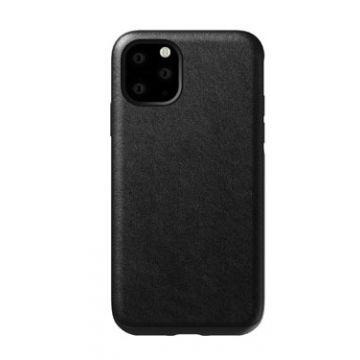 Coque en cuir Rugged iPhone 11 Pro Max Noir