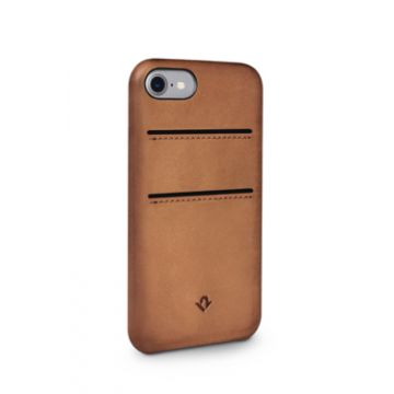 Relaxed Leather iPhone 7/8 Cognac