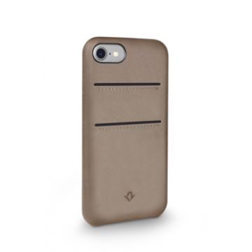 Relaxed Leather iPhone 7/8 Taupe