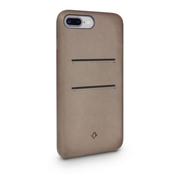 Relaxed Leather iPhone 7Plus/8Plus Taupe